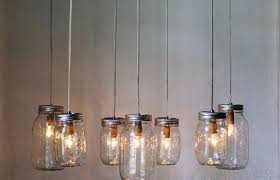 kitchen decoration medium size mason jar canopy chandelier upcyled hanging swag rubbed bronze pendant chandelier oil