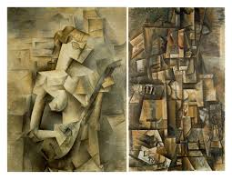 2 more examples of cubism