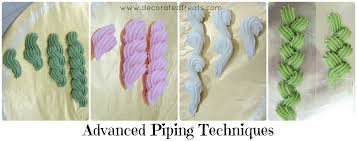 Advanced Piping Techniques The Art Of Cake Decorating