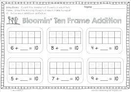 free kindergarten math worksheets addition