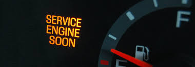 Meaning of check engine light in Nissan models