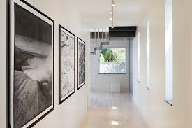wall art lighting ideas. black and white picture frame ideas hall modern with ceiling lighting gallery wall art