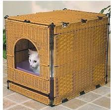 image covered cat litter. This Cute Rattan One Is Available At The Cat Furniture Superstore. Image Covered Litter