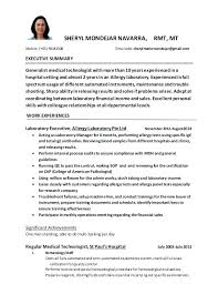 Clinical Laboratory Technician Cover Letter Custom Paper Example