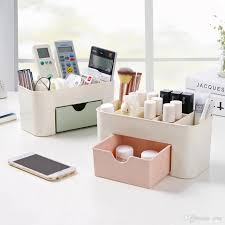 cheap office storage. Cosmetics Jewelry Organizer Office Storage Drawer Desk Makeup Case Plastic Brush Box Lipstick Remote Control Holder Cheap S
