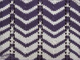 Chevron Knitting Pattern New Twocolor Chevron Knitting Stitch Patterns