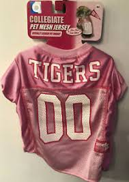 Md Size Chart Details About Clemson Tigers Pink Pet Jersey Dog Md See Photos Size Chart Official Ncaa 7437