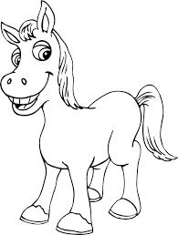 Disegni Da Stampare Cavalli Az Colorare