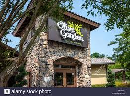 olive garden italian restaurant in buford georgia near atlanta usa stock