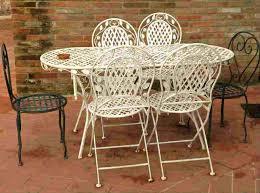 painted metal patio furniture.  Furniture Painting Metal Outdoor Furniture Patio Painted Garden  Table To