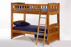 cinnamon twin twin bunk bed