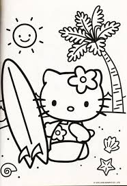Kleurplaat Hello Kitty Coloring Pages Hello Kitty Colouring