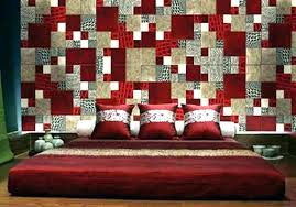 fabric wall covering ideas decor kids room storage