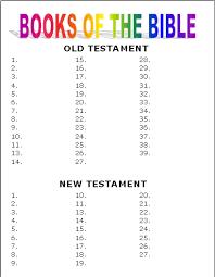 Books Of The Bible Worksheet Worksheet Fun And Printable