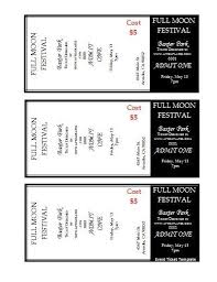 Avery Ticket Templates Avery Tickets Templates Yolarcinetonic
