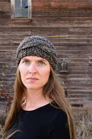 Knitted Headband Pattern Custom Cable Headband Free Knitting Pattern Brome Fields