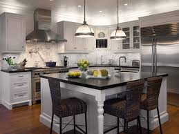 Impressive White Kitchens With Stainless Appliances Island And Steel Perfect Design