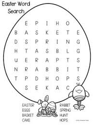 Small Picture Bible Word Search Printables Catholic easter Word search and Easter