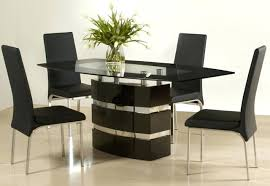 glass dining set design innovative dining room sets glass top clear round glass top modern dining