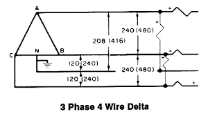 208 3 phase wiring diagram wiring diagram and schematic design cr4 th convert 208v 3p to 1p