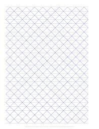 Free Online Graph Paper Axonometric