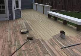 is it better to paint or stain my deck
