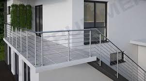 Der bau einer kleinen außentreppe sollte sorgfältig geplant werden. Edelstahlgelander Bausatze Fur Balkongelander Treppengelander Brustungsgelander Terrassengelander