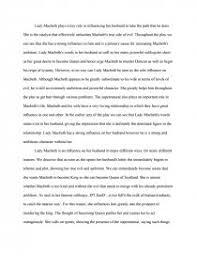 lady macbeth s role in macbeth essays zoom