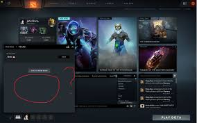 can t created team in dota 2 why is this