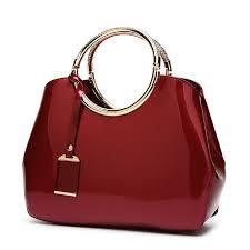 flyone las handbags brands patent leather women bag hand bags messenger shoulder bags luxury women famous bolsa feminina