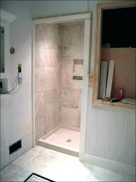 swanstone shower base installation wer base pan kit installation large