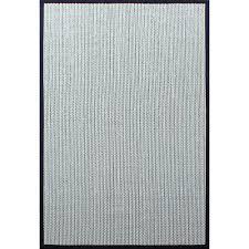 sisal wool herringbone black cream 4 ft x 6 ft indoor area rug