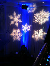 Squamish Firefighter Winter Gala Paradise Events Lighting Rental Gobo Projector Rental Vancouver