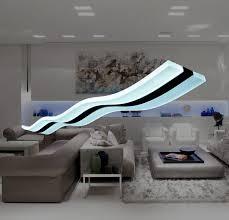 wave pendant light fixture modern place