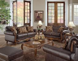 Industrial Living Room Furniture Living Room Living Room Decorating Ideas With Dark Brown Sofa