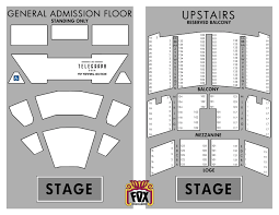 Oakland Seating Chart Tickets Box Office Fox Theater