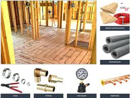 radiant floor heat supplies radiant floor heating supplies cost to install a propane fireplace