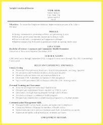 Entry Level Personal Trainer Resume Beautiful Entry Level