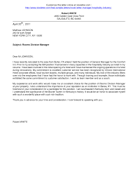 Hospitality Cover Letter Ideas Collection Cover Letter Example