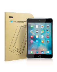Anker <b>Tempered</b>-<b>Glass Screen Protector</b> for iPad Mini 4 UN <b>Clear</b> ...