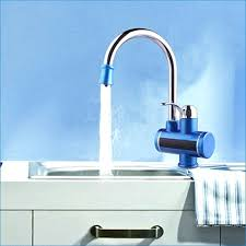 instant hot water for kitchen sink kitchen sink faucet with tank less water heater instant hot