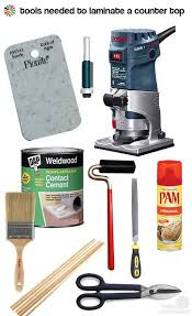 kate builds a laminate countertop she declares this easy with the right tools retro renovation