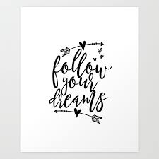 Wall Decor Quotes Fascinating Follow Your Dreams Baby Room Decor Baby Boy Gift Follow Your Arrow