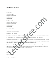 Template Certified Letter Template Certification That Used Verify