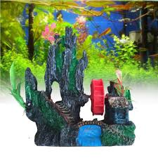 office fish tanks. c3 2016 artifical aquarium ornament rockery windmill fish tank underwater decor resin craft landscaping office tanks