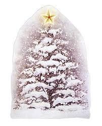 Dpr Fensterbild Tannenbaum Weihnachtsbaum Mit Stern Selbstklebend Fensterdekoration Winterdekoration Weihnachten