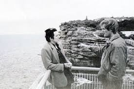 gordon wood right with friend peter cameron at the gap after caroline byrne s