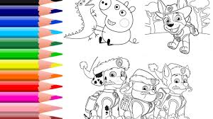 Small Picture Dog Paw Coloring Page Dog Coloring Pages Print Paw Patrol