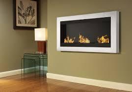 large wall mount fireplace