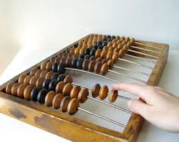 steampunk office decor. huge wood abacus vintage 18 inches russian ussr soviet industrial old time computer rustic wooden calculator calculatoroffice decorcomputerssteampunk steampunk office decor